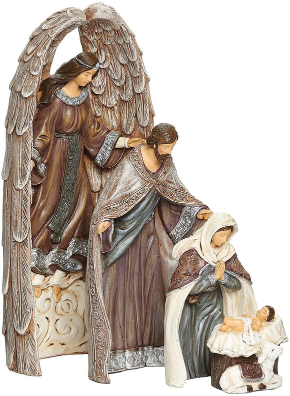 4 PIECE NESTING NATIVITY SET