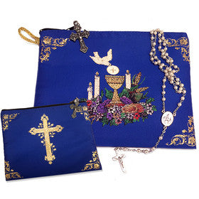 BLUE FIRST COMMUNION CASE