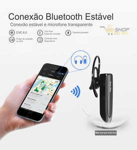 NOVO  HEADSET SEM FIO BLUETOOTH 5.0 PARA  IPHONE E XIAOMI