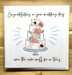 Wedding Tiers Card