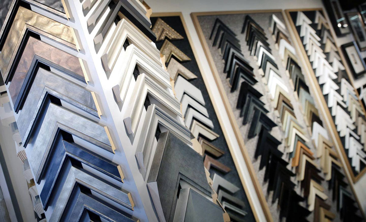 Picture framing at Pomfret Gallery in Pontefract