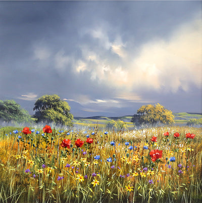 Allan-Morgan-Wild-Flower-Field-Painting