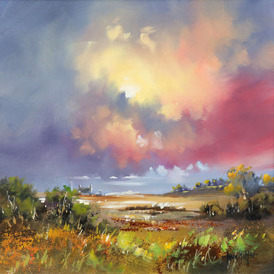 Allan Morgan Changing Skies Painting