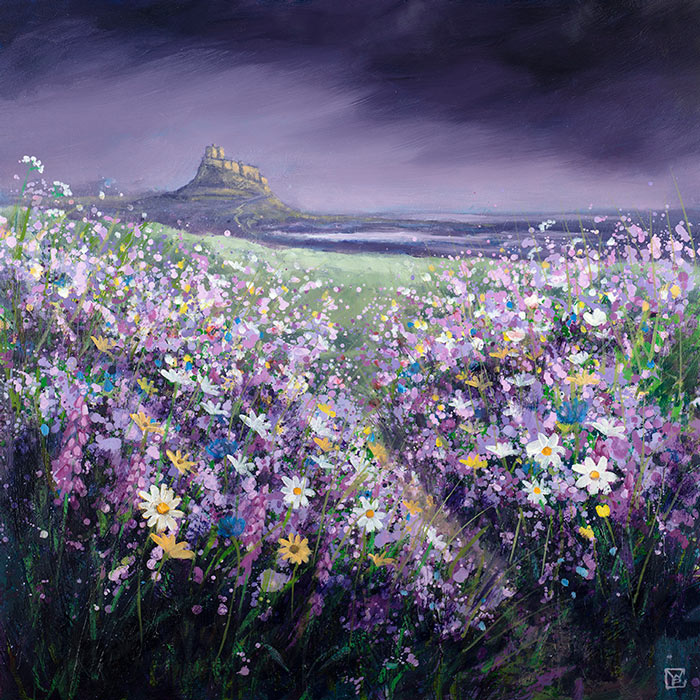 Buy limited edition fine art prints of lindisfarne castle through our website or visit our art gallery in Pontefract, West Yorkshire.