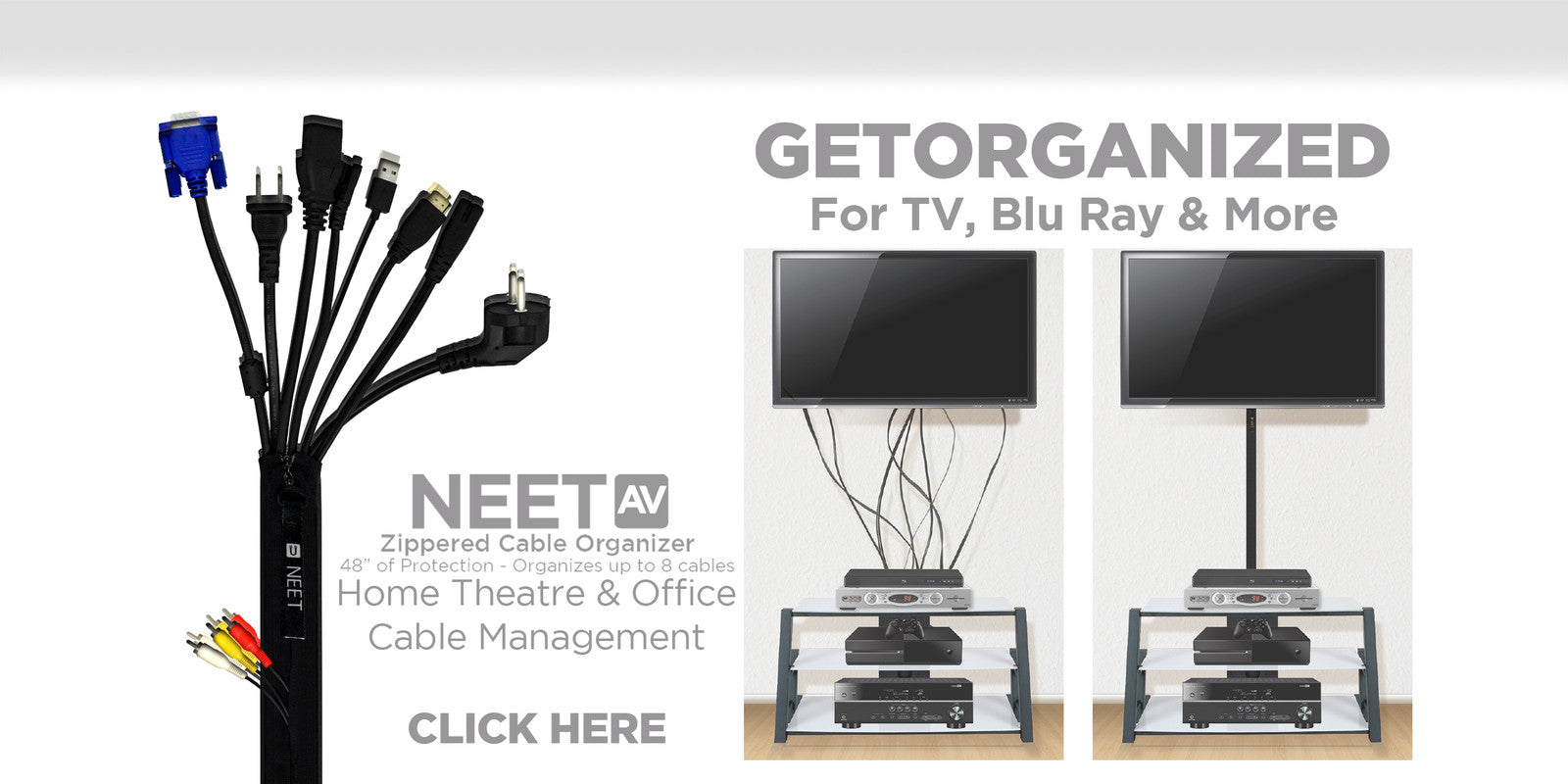 NEET Products : Cable Organizer