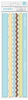 American Crafts Cardstock Stickers - Remarks - Baby Boy Borders