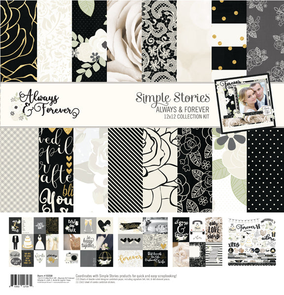 Simple Stories Collection Kit - Always & Forever