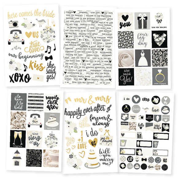 Simple Stories Sticker Pack - Always & Forever