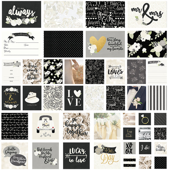 Simple Stories Snap Cards - Always and Forever with Foil Accents