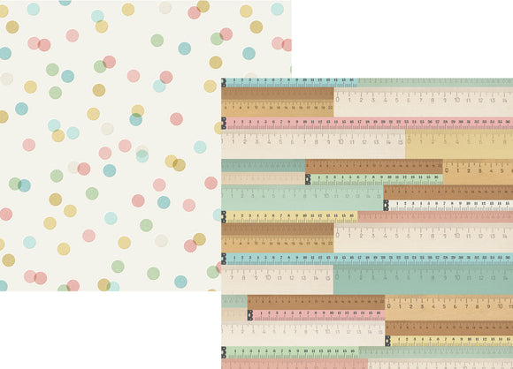 Simple Stories Papers - Oh, Baby - Bundle of Joy - 2 Sheets