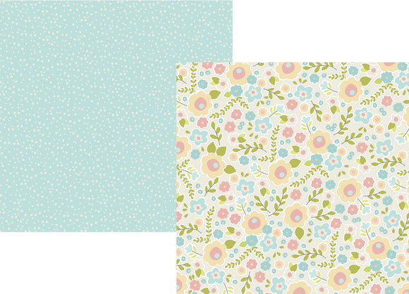 Simple Stories Papers - Oh, Baby - Sweet Dreams - 2 Sheets
