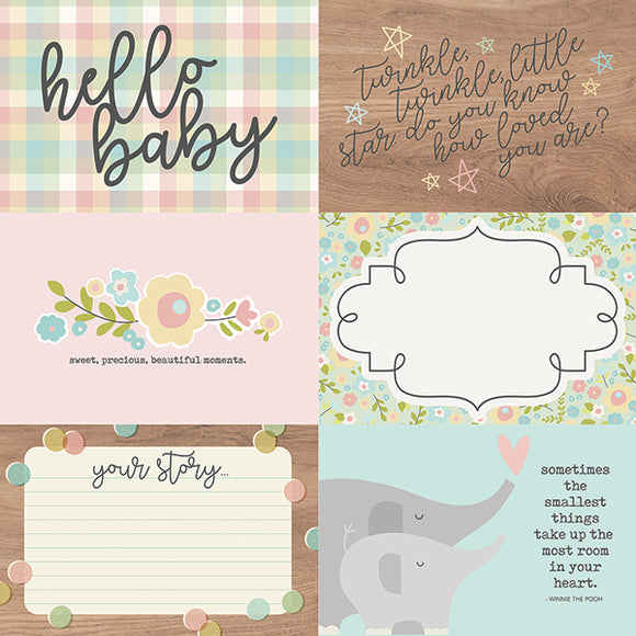 Simple Stories Cut-Outs - Oh Baby - 4x6 Horizontal Elements