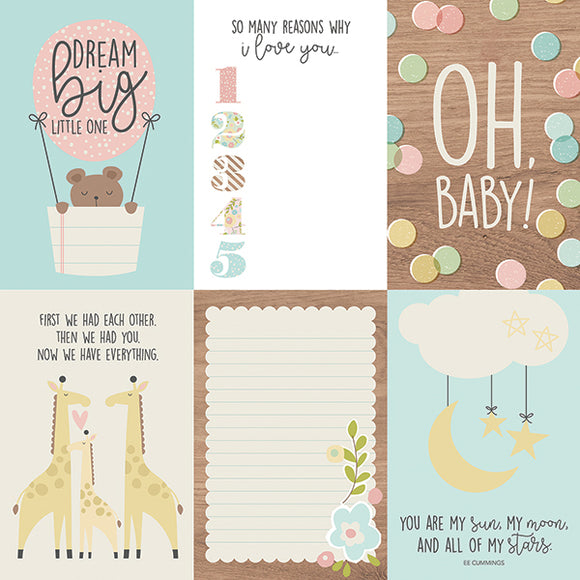 Simple Stories Cut-Outs - Oh Baby - 4x6 Vertical Elements
