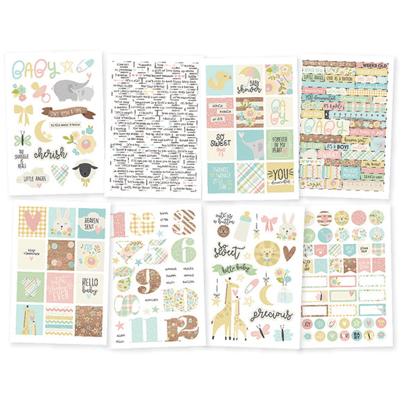 Simple Stories Sticker Pack - Oh Baby