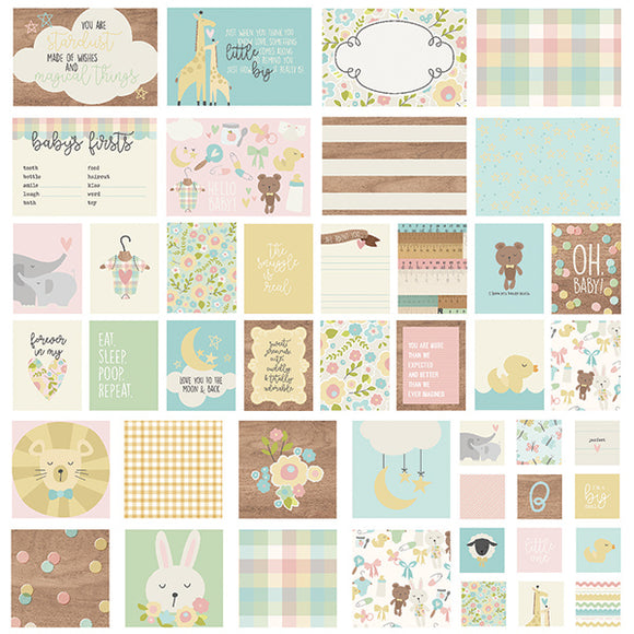 Simple Stories Snap Cards - Oh Baby