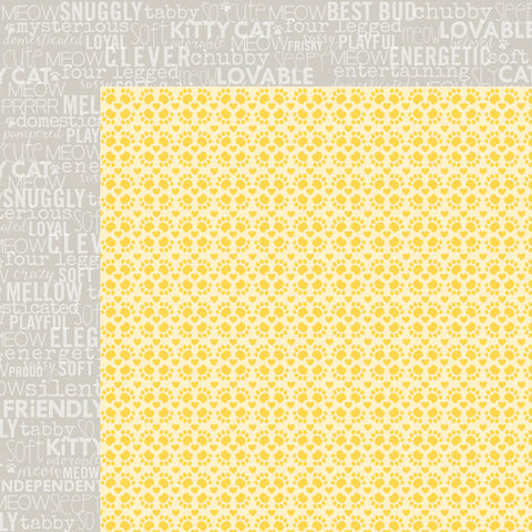 Bella Blvd 12x12 Papers - Riley - Tabby Cat - 2 Sheets