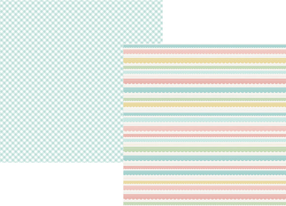 Simple Stories Papers - Oh, Baby - Expecting - Expecting You - 2 Sheets