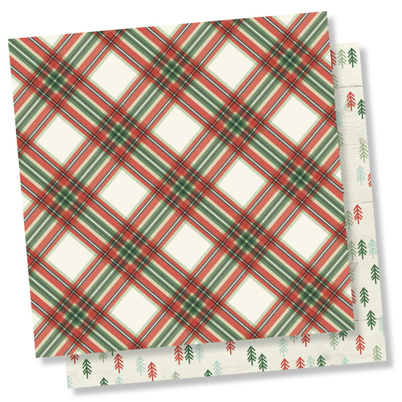 Simple Stories Papers - Merry & Bright - Simply Christmas - 2 Sheets