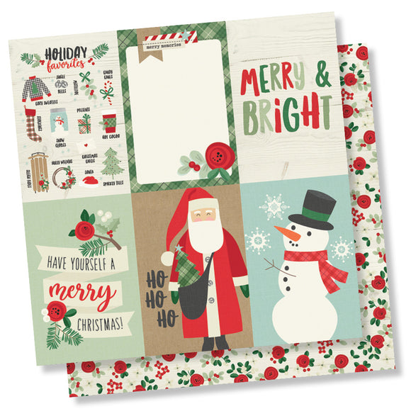 Simple Stories Cut-Outs - Merry & Bright - 4x6 Vertical Elements