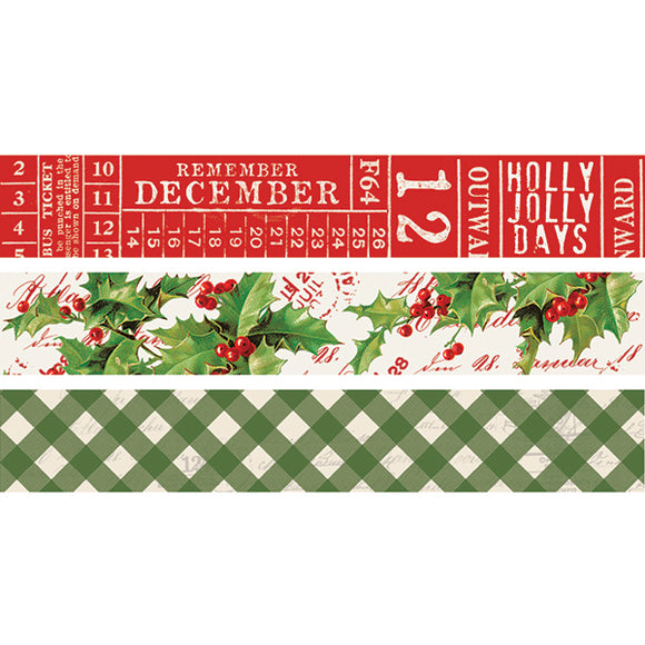 Simple Stories Washi Tape - Simple Vintage Christmas