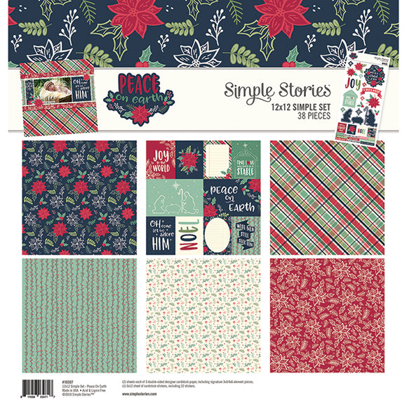 Simple Stories Collection Kit - Peace on Earth