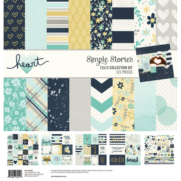 Simple Stories Collection Kit - Heart