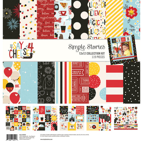 Simple Stories Collection Kit - Say Cheese 4
