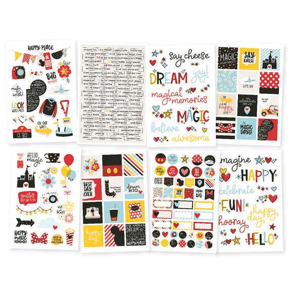 Simple Stories Sticker Pack - Say Cheese 4 - Assortment