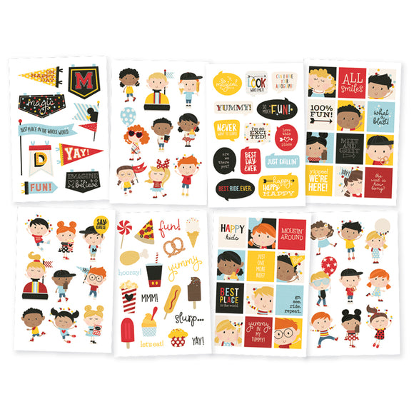 Simple Stories Sticker Pack - Say Cheese 4 - Happy Kids