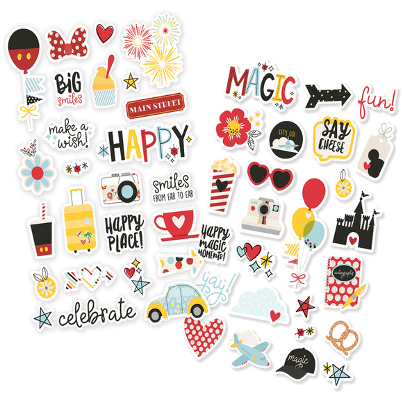 Simple Stories Puffy Sticker Pack - Say Cheese 4