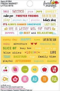 Bella Blvd Little Bits Stickers - Fresh Market
