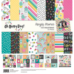 Simple Stories Collection Kit - Oh Happy Day