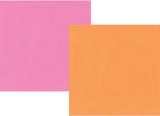 Simple Stories Papers - Oh Happy Day - Orange/Pink - 2 Sheets