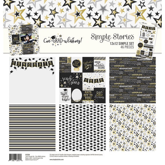 Simple Stories Collection Kit - Con-GRAD-ulations