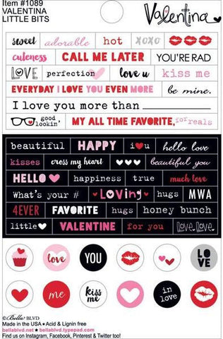 Bella Blvd Little Bits Stickers - Valentina
