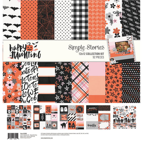 Simple Stories Collection Kit - Happy Haunting