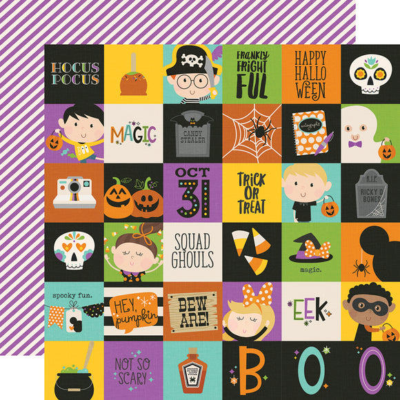 Simple Stories Cut-Outs - Say Cheese Halloween - 2x2 Elements