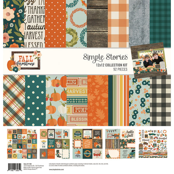Simple Stories Collection Kit - Fall Farmhouse
