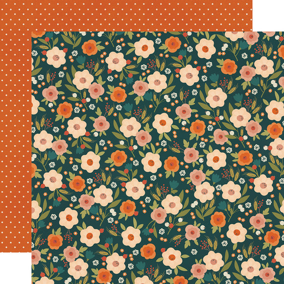 Simple Stories Papers - Fall Farmhouse - Simply Thankful - 2 Sheets