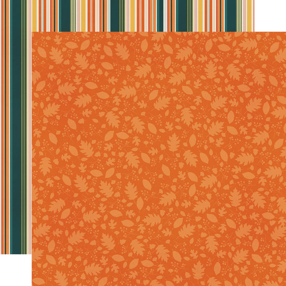 Simple Stories Papers - Fall Farmhouse - Falling for You - 2 Sheets