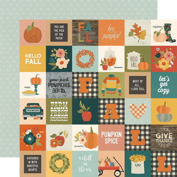 Simple Stories Cut-Outs - Fall Farmhouse - 2x2 Elements