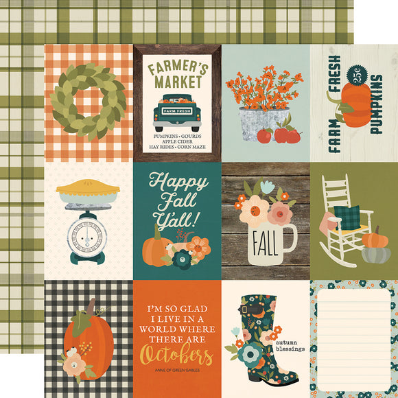 Simple Stories Cut-Outs - Fall Farmhouse - 3x4 Elements