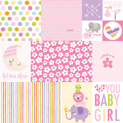 Bella Blvd Cut-Outs - Sweet Baby Girl - Daily Details