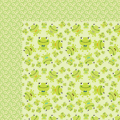 Bella Blvd Papers - Cute Baby Boy - Prince - 2 Sheets