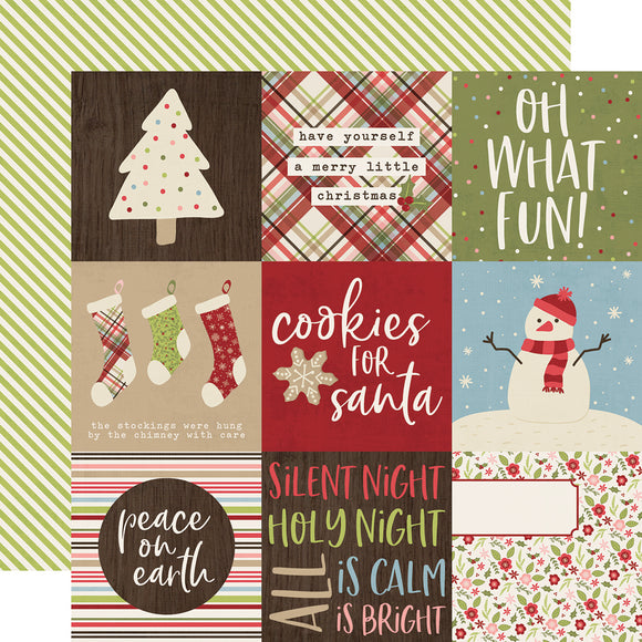 Simple Stories Cut-Outs - Holly Jolly - 4x4 Elements