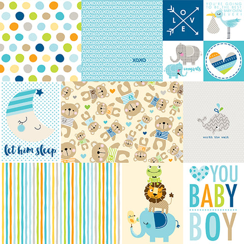 Bella Blvd Cut-Outs - Cute Baby Boy - Daily Details