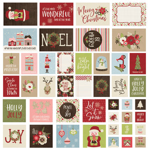 Simple Stories Snap Cards - Holly Jolly