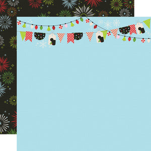 Simple Stories Papers - Say Cheese Christmas - Believe In Magic - 2 Sheets