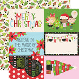 Simple Stories Cut-Outs - Say Cheese Christmas - 4x6 Elements
