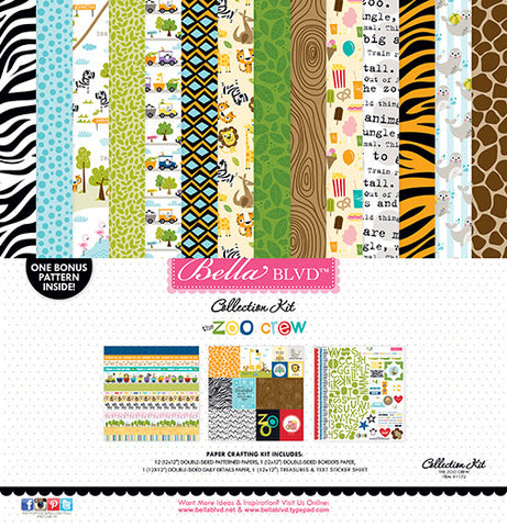 Bella Blvd Collection Kit - The Zoo Crew